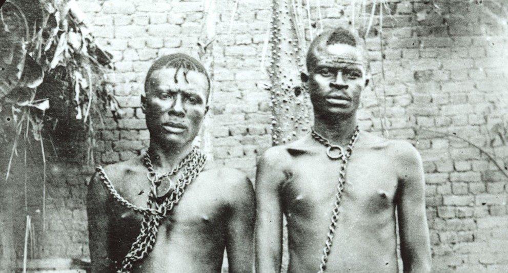 2 Gevangen Congolezen c Alice Harris Anti Slavery Museum Liverpool