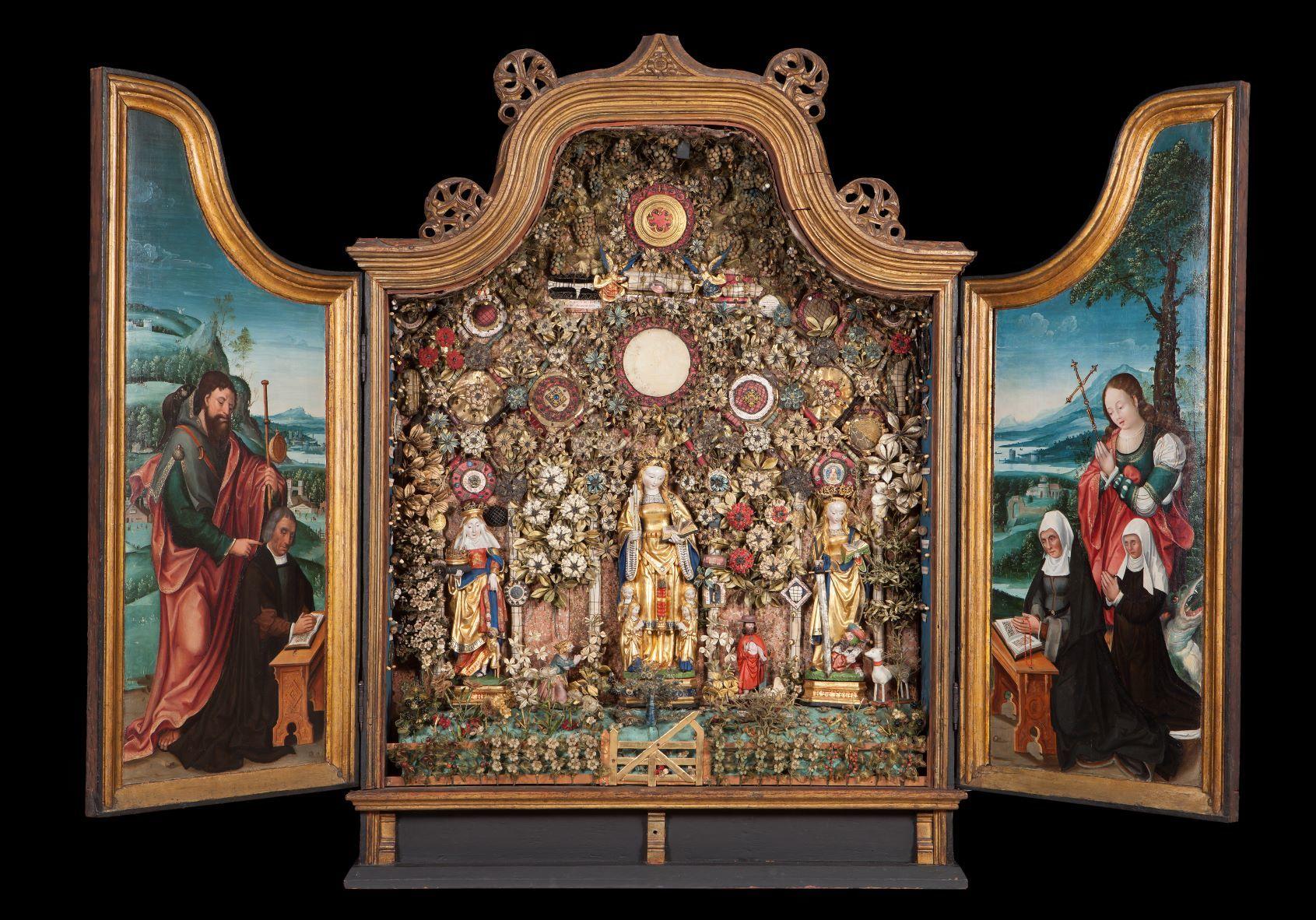 Besloten Hofje 2 c Museum Hof van Busleyden aangepast
