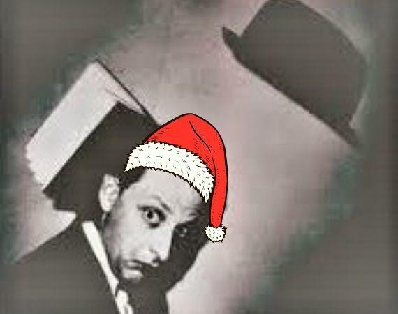 Papieren kerstman 1