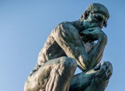 17 Le Penseur in the Jardin du Musée Rodin Paris March 2014