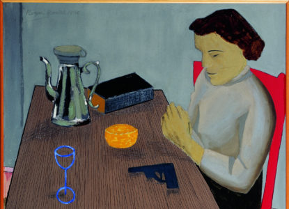3 Vrouw met revolver Woman with Revolver 1950 Fondation Linda et Guy Pieters Saint Tropez