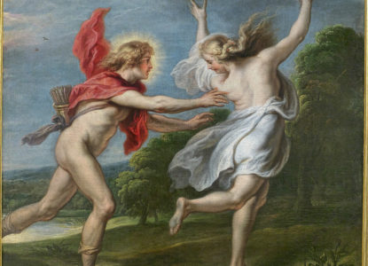 Apolo persiguiendo a Dafne Theodoor van Thulden