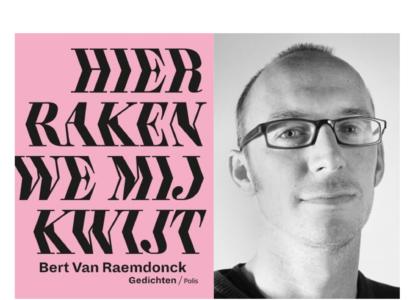 Beert van Raemdoncks debuutbundel c Geertje De Waegeneer