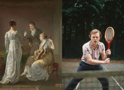 Kenneth Berth Louis Moritz De muziekles 1808