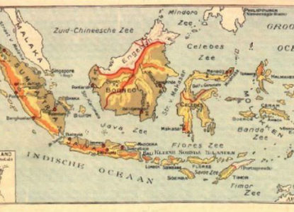 Nederlands-Indië-oude-kaart