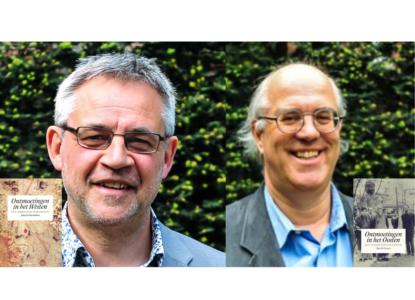 Patrick Pasture en Johan Verberckmoes kleiner