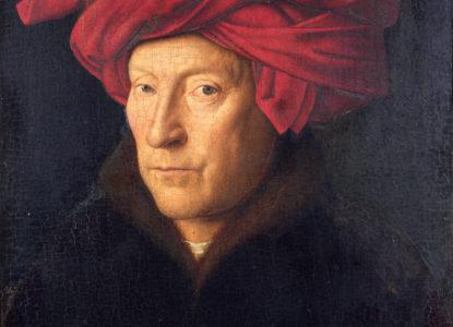 Portrait of a Man by Jan van Eyck