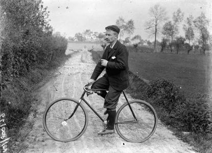Streuvels op de fiets