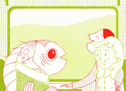 Vande Pol illustratie c Vicky Lommatzsch
