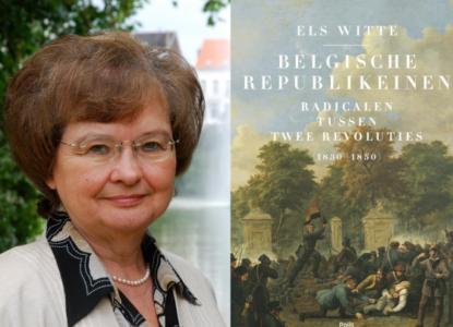 Witte België republiek verkleind