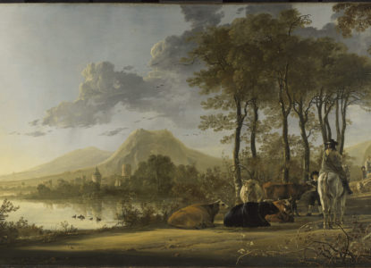 Afb 1 Aelbert Cuyp River Landscape with NG 6522