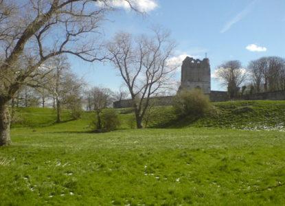 Restanten van de abdij van Waten Wikipedia commons