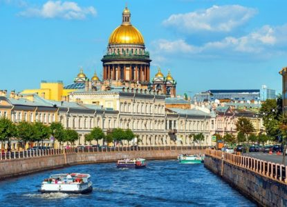 Thumb2 saint petersburg 4k neva river saint isaacs cathedral russian landmarks