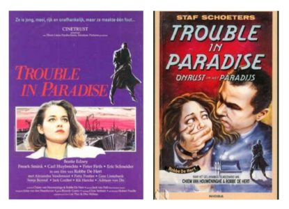 Trouble in paradise affiches
