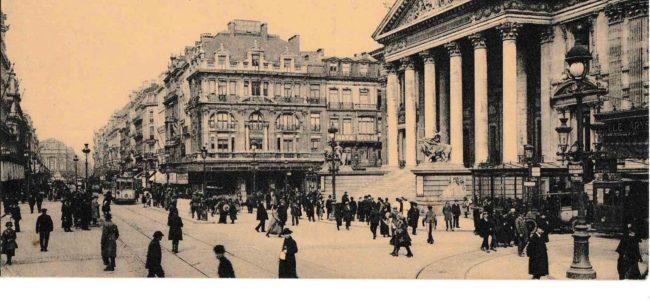 Bruxelles 1922 c geneanet org