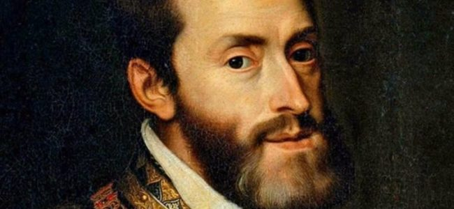 Karel V Koning van Spanje en Rooms Duitse keizer 750x480