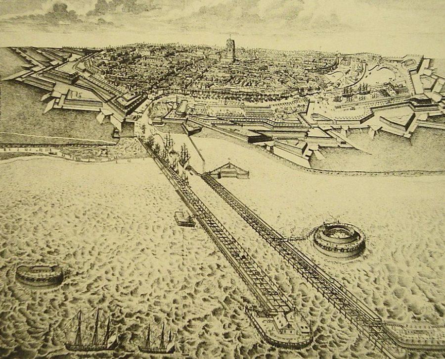 3-Dunkerque-Vauban-vue-depuis-mer