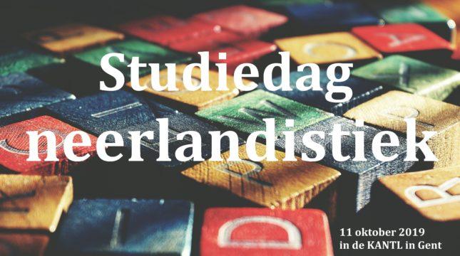 Studiedag neerlandistiek def